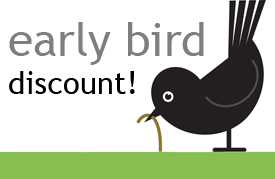 early bird discount 3